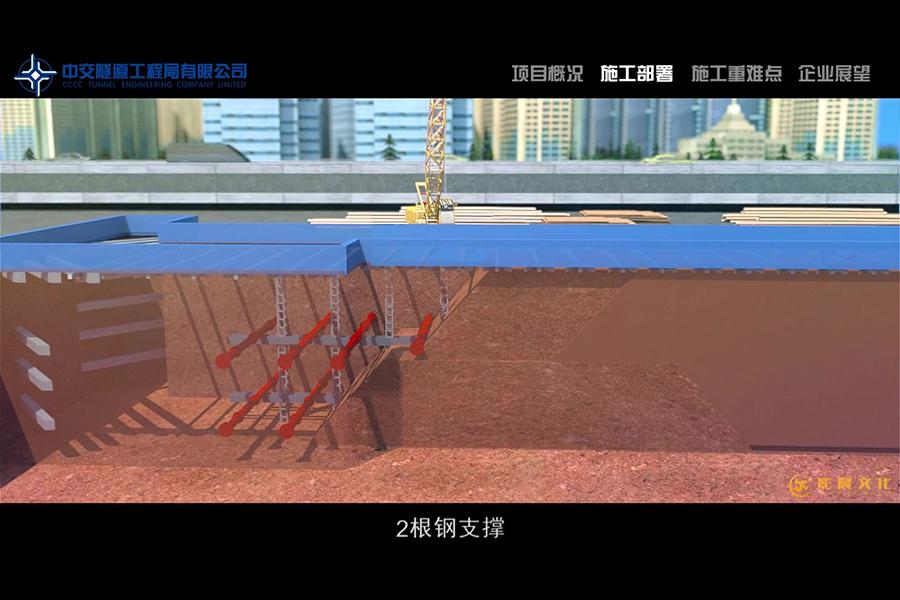 三维施工动画重点,广州三维动画制作公司