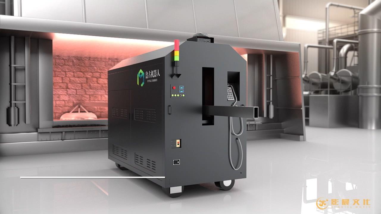 盘古机器人|工业设备类|产品三维动画案例