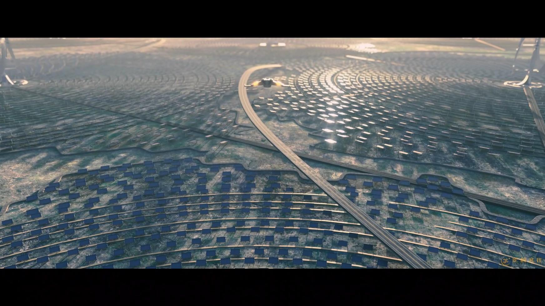 广汽新能源智能生态工业三维动画-极具科幻大片的开头