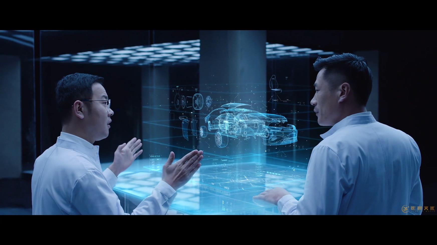 广汽新能源智能生态工业三维动画-真人与动画结合